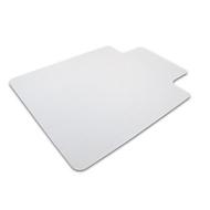 Vloerbeschermingsmat voor harde vloeren, puntig, met uitsparing, 900 x 1200 mm