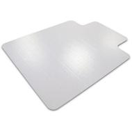 Vloerbeschermingsmat voor tapijtvloeren, puntig, met uitsparing, 900 x 1200