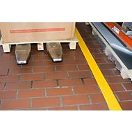 Vloermarkeringstape Safety-Floor Ultra G, B 100 mm x L 50 m, geel