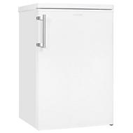 Vollraumkühlschrank exquisit KS16-V-040 E, 90 W, 127 l, 39 dB, 3 Fächer/1 Frischefach/3 Türfächer, B 550 x T 570 x H 855 mm, weiß