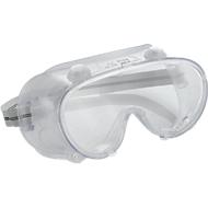Vollsichtbrille mit indirekter Belüftung