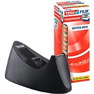 Voordeelset tafelafroller tesa Easy Cut® CURVE + 8 rollen tesafilm®, geschikt voor rollen tot B 19 mm