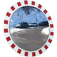Vorstbestendige-/anti-condens-verkeersspiegel Vialux, rond