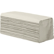Vouwhanddoeken, crêpe, 1-laag, zig-zag-vouw, naturel, 250 x 230 mm, 5000 vellen