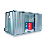 Vrijstaande container SAFE TANK 1350, voor passieve opslag