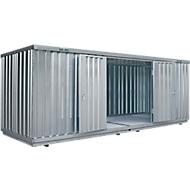 Vrijstaande container SAFE TANK 1900, voor passieve opslag