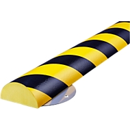 Wall Protection Kit, type C+, in stukken van 0,5 m, geel/zwart