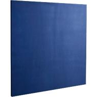 Wandabsorber Quadrat, B 500 x H 500 mm, Polyestervlies in Filzoptik, blau