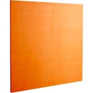 Wandabsorber Quadrat, B 500 x H 500 mm, Polyestervlies in Filzoptik, orange