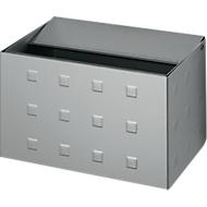 Wandasbak, Aluminium geanodiseerd