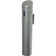 Wandascher Smoker, Volumen 1,5 Liter, verzinkter Innenbehälter, innen und außen, silber