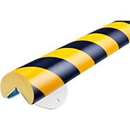 Wandbeschermingsset, Type A+, 0,5m geel/zwart stuk, type A+, 0,5m