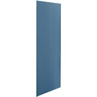Wandelement, stof, b 800 mm, blauw