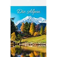 Wandkalender Die Alpen
