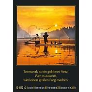 Wandkalender Gemeinsam zum Erfolg, B 300 x H 420 mm, Werbedruck 280 x 40 mm, Auswahl Werbeanbringung erforderlich