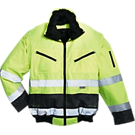 Warnschutz-Pilotjacke, gelb/grau, Gr. 52/54