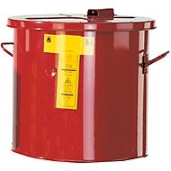 Wasch- und Tauchbehälter PREMIUM LINE, rot, 30 l
