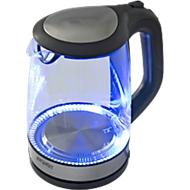 Waterkoker exquisit WK 3501 swg, glas, 2 l, 2200 W, met LED binnenverlichting, 360° draaibaar