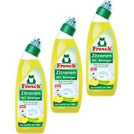WC-reiniger Frosch citroen, 750 ml, 2 + 1 gratis