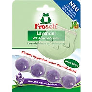 WC Reiniger Frosch WC-Frische Spüler, Körbchen 100% recycelbar, ohne Bügel, 42 g, Lavendel