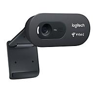 Webcam Logitech HD C270, HD video's 720p, 3 megapixel foto's