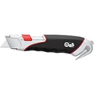 Wedo Cutter Safety Super, m. integriertem Folienschneider, mit Rundmesser, 1 Klinge