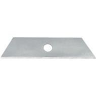 WEDO Lames trapèzes de rechange pour Cutter Safety Standard, 18 mm, 10 pièces