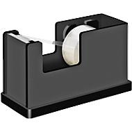 Wedo Plakbandafroller Black Office  inclusief 1 rol plakband 19 mm x 33 m