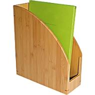 Wedo tijdschriftenhouder bamboe, A4, zeer stabiel