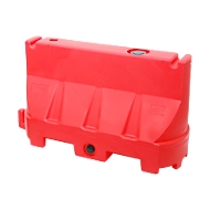 Wegenverdeler, UV-stabiel polyethyleen, temperatuurbestendig, flexibel ontwerp, rood