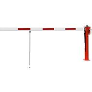 Wegesperre mit Gasdruckfeder, Pendelstütze, 3230 mm