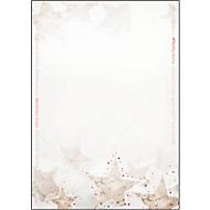 Weihnachts-Motiv-Papier Christmas Timber, Rotprägung, DIN A4, 25 Blatt