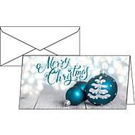 Weihnachtskarten Sigel Delightful Christmas, DIN lang, 220 g/m², inkl. weißen Umschlägen, 25 Stück