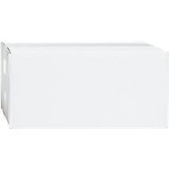 Weiße Wellpapp-Faltkartons, 1-wellig, 250 x 200 x 200 mm