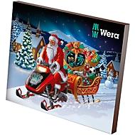 Wera Adventskalender 2019, gefüllt mit 26 Werkzeugen, mit Textilbox, limitierte Geburtstags-Edition