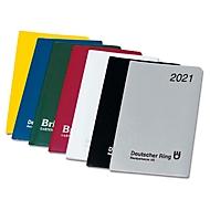Werbe-Set Faltplaner, B 95 x H 160 mm, mit Werbedruck, farbsortiert, 400 Stück