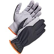 Werkhandschoenen Worksafe A100, CE Cat 1, kunstleer/polyester, maat 11, 12 paar.