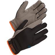 Werkhandschoenen Worksafe A100W, CE Cat 1, kunstleer/polyester, maat 10, 12 paar