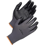 Werkhandschoenen Worksafe P30-106, CE Cat 2, nitril/nylon, maat 9, 12 paar