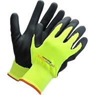 Werkhandschoenen Worksafe P30-110W, CE Cat 2, nitril/nylon/acryl, maat 9, 6 paar