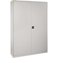 Werkplaatskast XL616 met 77 bakken RK421, blank aluminium RAL 9006/blank aluminium RAL 9006