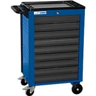 Werkplaatswagen BASIC, 9 schuifladen, blauw