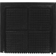 Werkplekmat 4210 Black-end, 1000 x 1100 mm