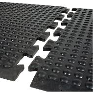 Werkplekmat Bubblemat Nitril, Modulefunctie middenmat, 600 x 900 mm