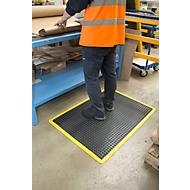 Werkplekmat Bubblemat Safety, modulefunctie eindmat, 600 x 900 mm