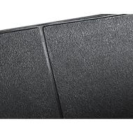 Werkplekmat Yoga Industrie®, zwart, 1 stuk