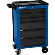Werkstattwagen BASIC, 6 Schubladen, blau