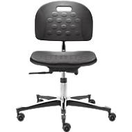 Werkstoel Industry TEC Basic, PU, in hoogte verstelbaar, zonder armleuningen
