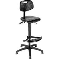 Werkstoel ProWork PW1-H-PU-FS1, glijders en voetenring