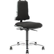 Werkstoel Sintec 160, bekleding van textiel